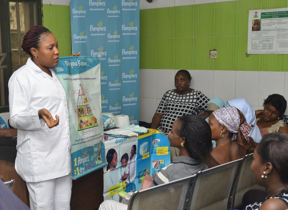 Pampers shows Love at New Mums ahead of Valentine 1