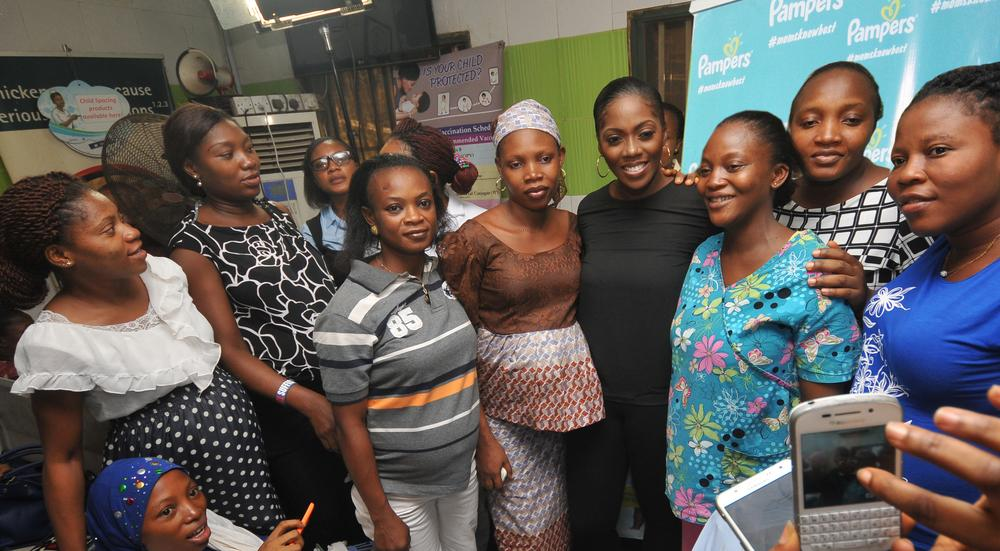 Pampers shows Love at New Mums ahead of Valentine 5