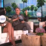 Rihanna and George Clooney on Ellen Show