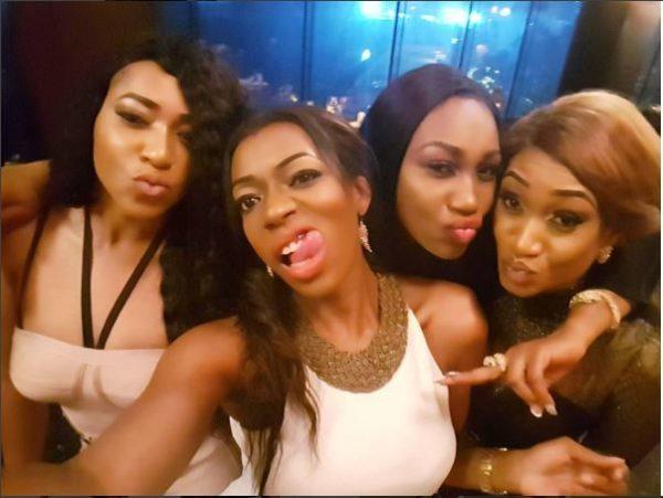 Rukky Sanda, Destiny Amaka, Ebube Nwagbo & Oge Okoye