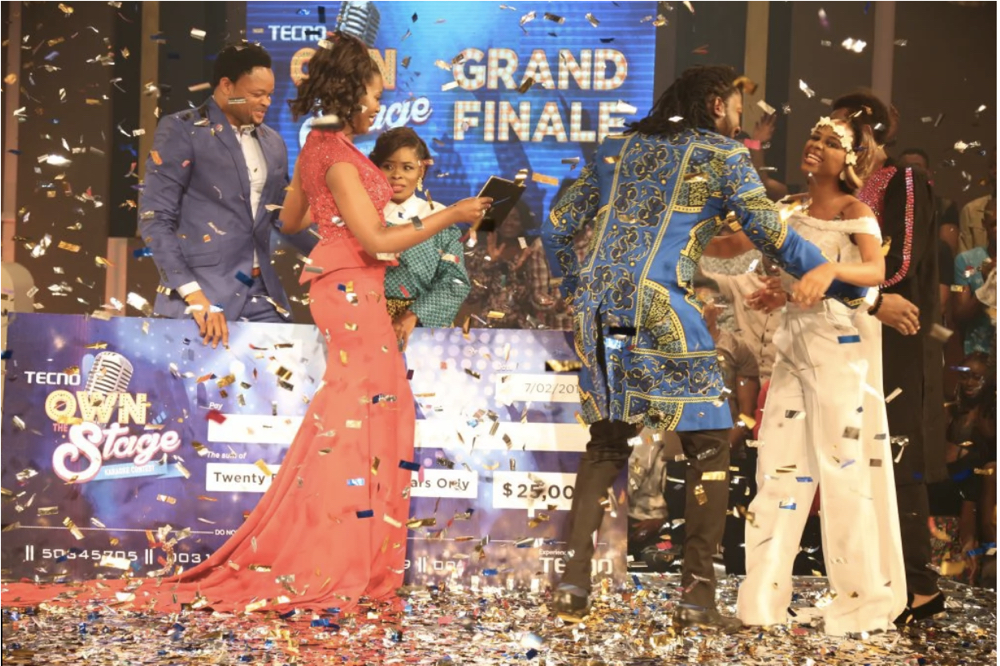 TECNO Own the Stage Grand Finale 2016_February 20161