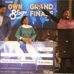 TECNO Own the Stage Grand Finale 2016_February 20163