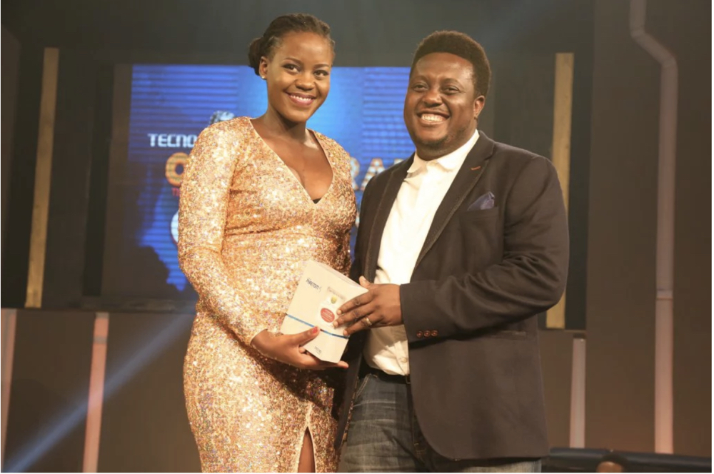 3rd runner up Sikin and Oye Akindeinde