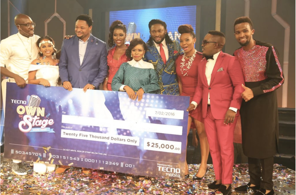 TECNO Own the Stage Grand Finale 2016_February 20168