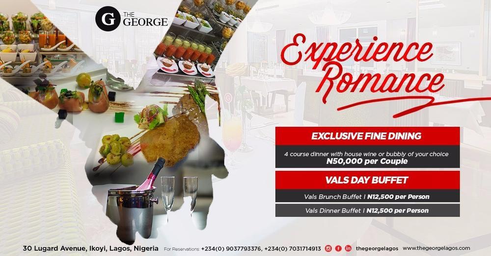 The George Hotel Lagos Valentine's 2016 2