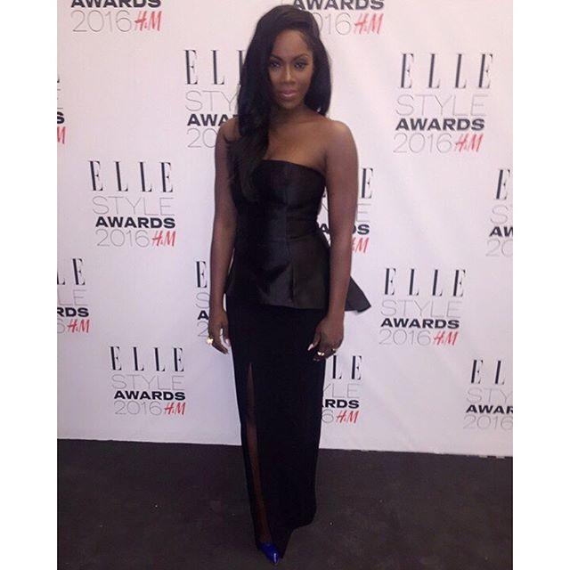 Tiwa Savage Elle Style Awards 1