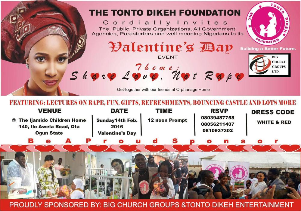 Tonto Foundation Valentine