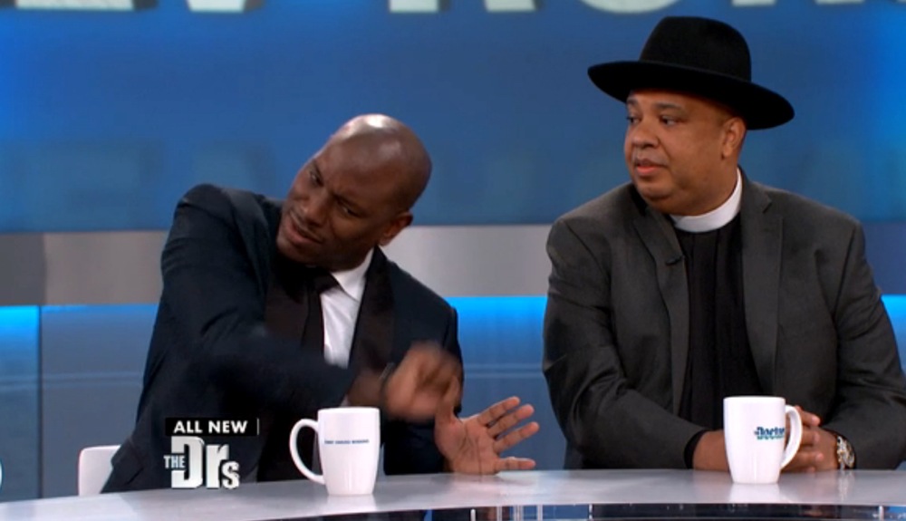 Tyrese and Rev Run on The Doctors_2