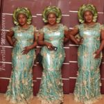 Uche Jombo at Julie Odia's wedding