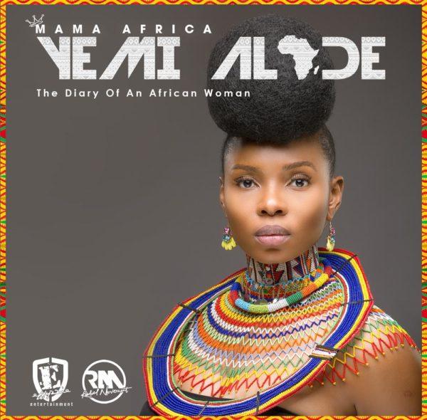Yemi Alade - Mama Africa [Stnadard Album Cover Art]
