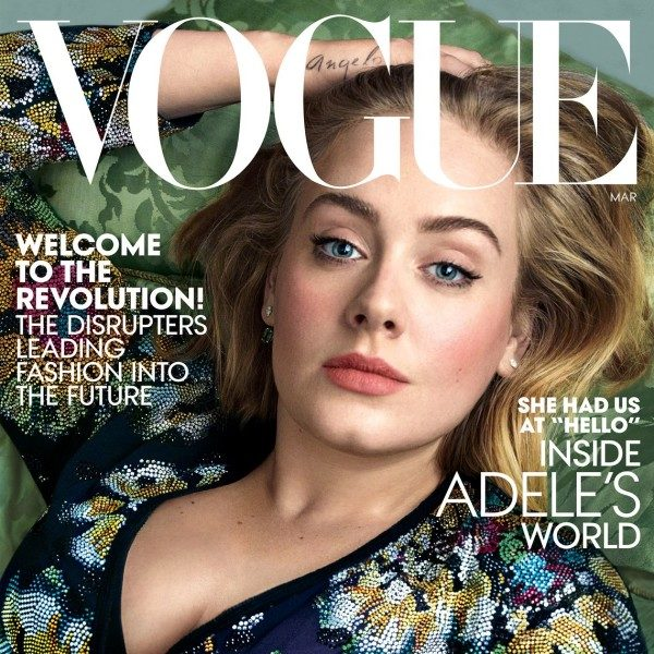 Adele Is Flawless On The Cover Of Vogue's March 2016 Issue