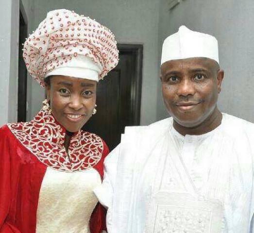 Aminu Tambuwal and his First Wife, Hajiya Mariya