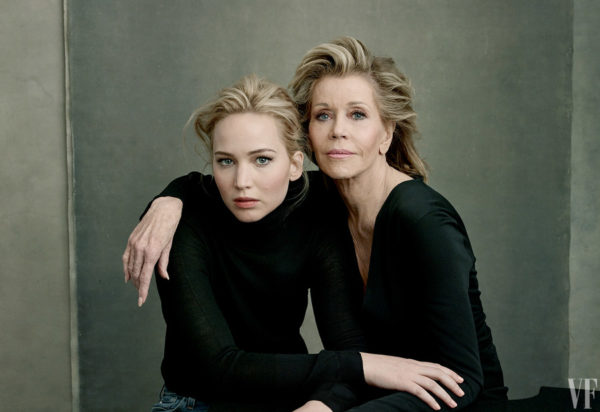 Jennifer Lawrence & Jane Fonda