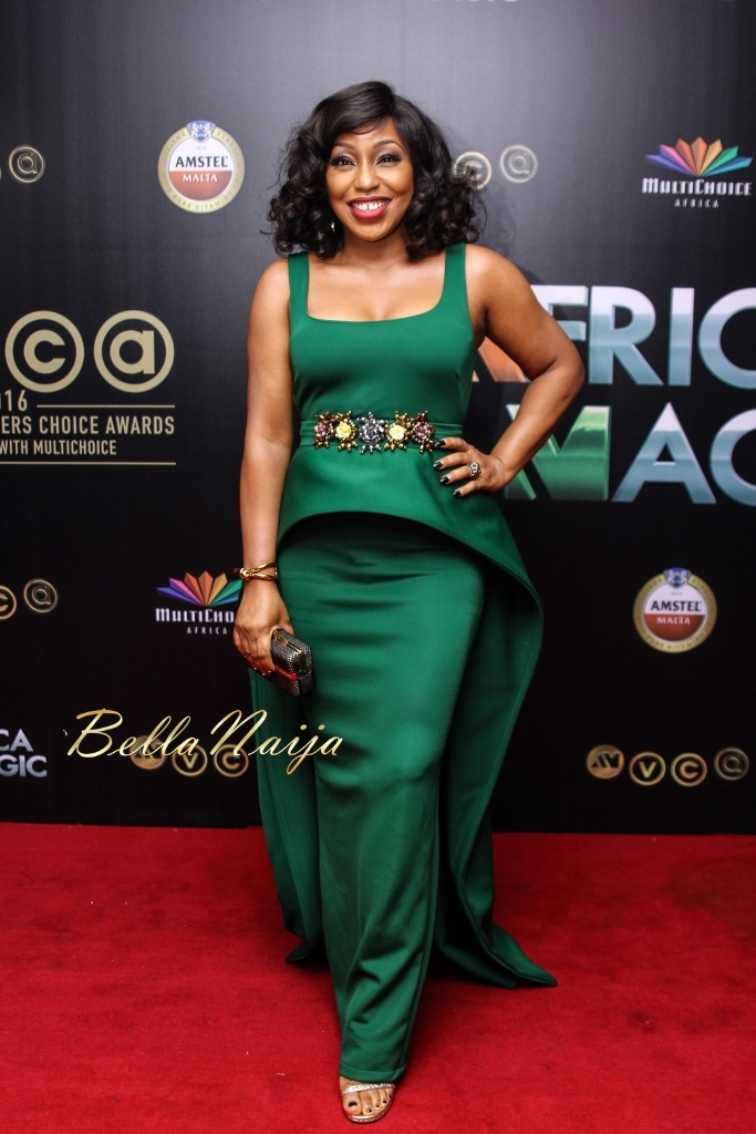 Rita Dominic at the 2016 AMAA awards