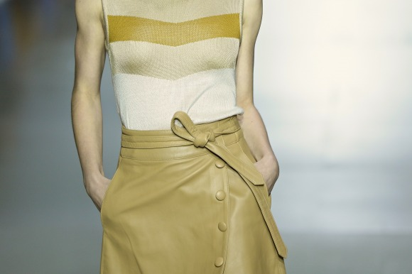 A belted close up detail at Tamara Cherie