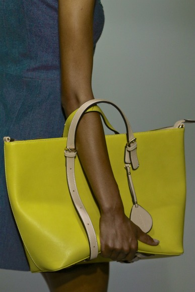 A yellow tote purse at Tumelo Nguyuza Collectiv