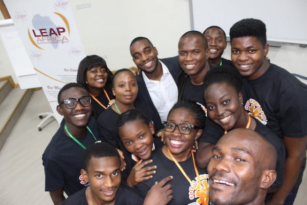 2016 SIP Fellows with Mr. Kayode Olagunju of Accenture