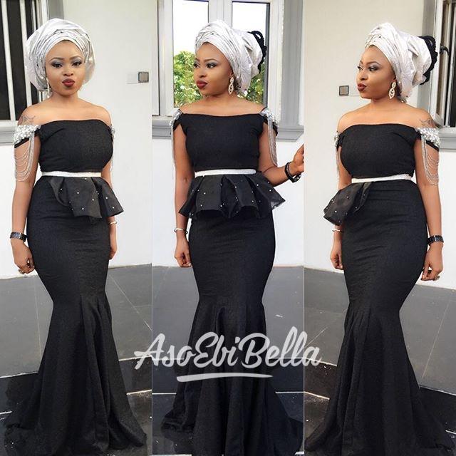 @adeyeencah in @modior_kors dress, MUA @bim_beau