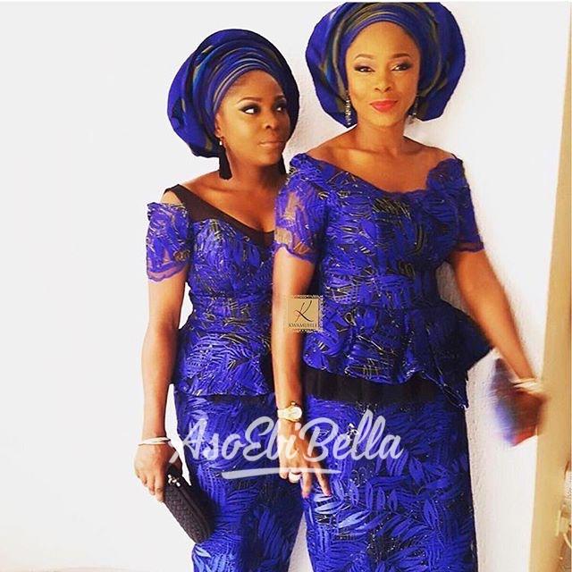 @frostedice12 @tinymeeee in @temiladyofkwamuhle fabrics