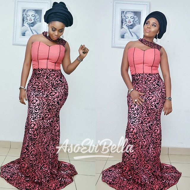@glamazon_beau in outfit by @belleame_stitches, MUA @adornedbyjoy