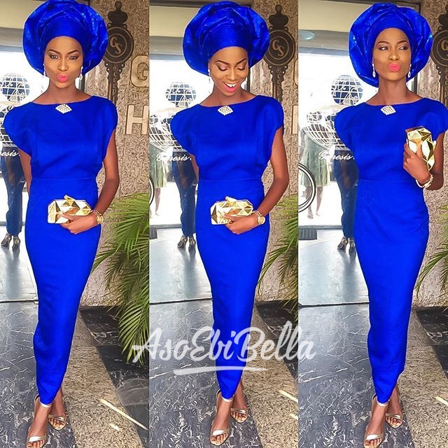 @olarslim, dress by @debrasgrace, gele by @adeileh_