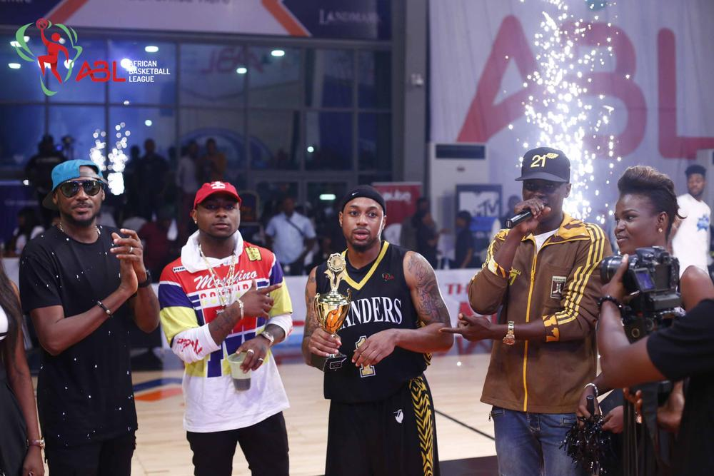 ABL All Star Weekend Lagos March 2016 2Baba, Davido, Mark Hill and Soud Sutlan
