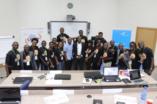 LEAP Africa youth Fellowship Program Union Bank trained 20 youth
