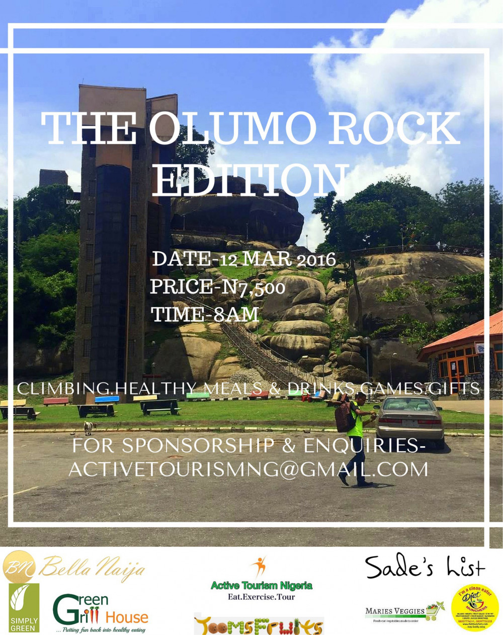 Active Fitness Nigeria Olumo Rock