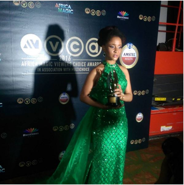 Adesua Etomi (Best Actress for Drama)