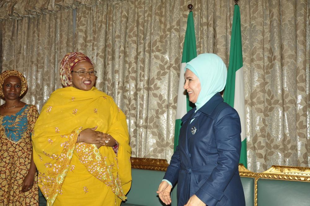 Aisha Buhari Turkey 1