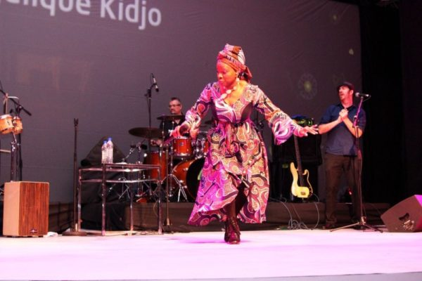 Angelique Kidjo @ Prize for Literature 2014 Grand Finale