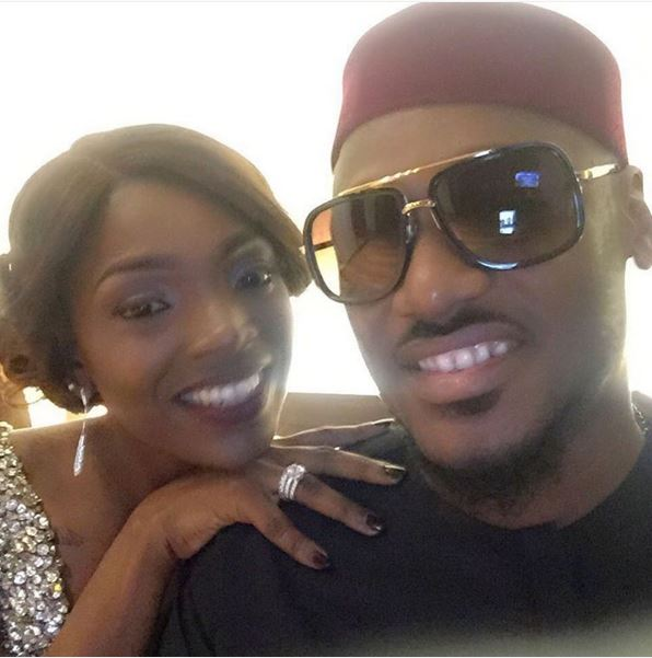 love in the air: Annie Idibia's Anniversary Message to Tuface