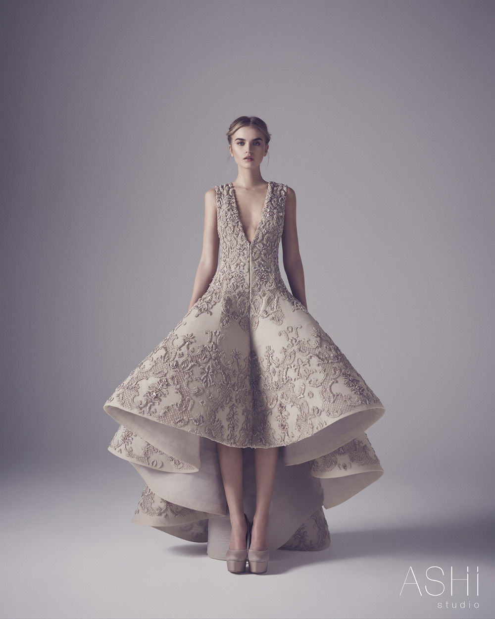 Bn bridal ashi studio spring summer couture collection 2016 for Designer haute couture dresses