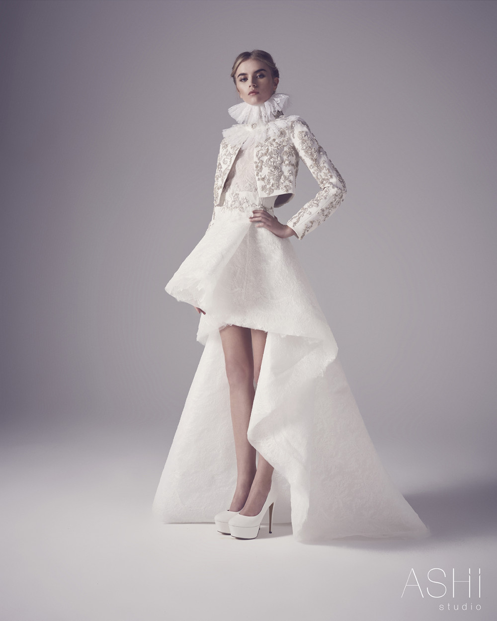 Bn bridal ashi studio spring summer couture collection for Haute house couture