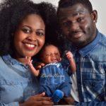 Blessing and Gideon Yobo Miracle Baby Caleb_ March 2016 BellaNaija_1