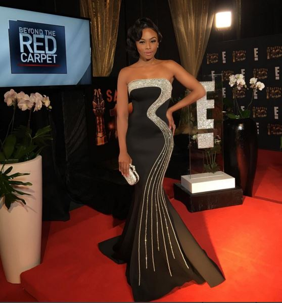 Bonang Matheba in MacDuggal