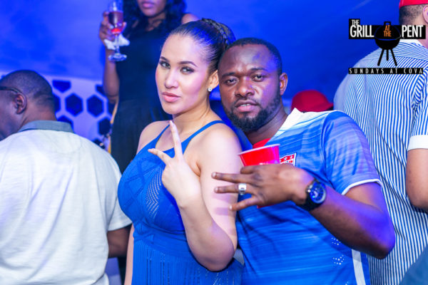 Caroline Danjuma and friend