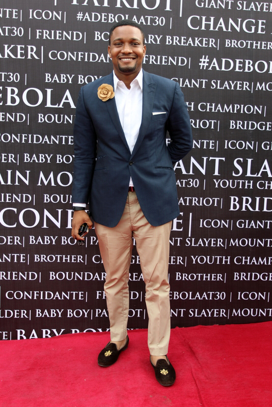 Photos: Media business entrepreneur Adebola Williams turned 30yrs