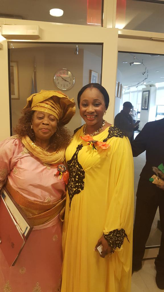 Clarion Chukwurah receives Danny Glover award in Harlem with new Husband_March 2016__3