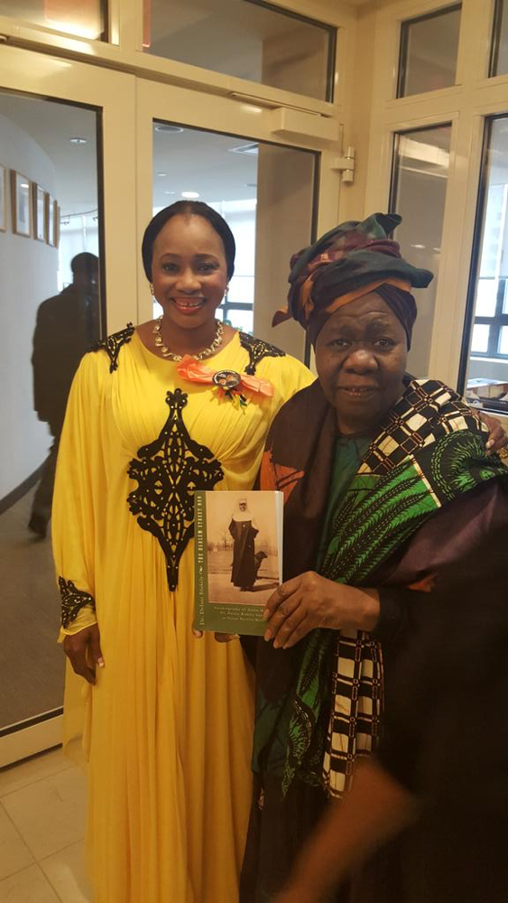 Clarion Chukwurah receives Danny Glover award in Harlem with new Husband_March 2016__5