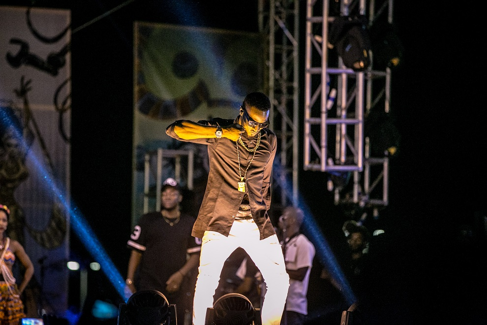 D'banj 'Kokomaster' on the #HeiinekenGidiFest stage