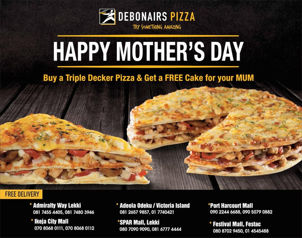 Debonairs Mothers Day 2016