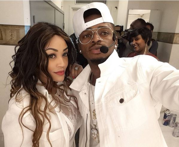 Image result for diamond platnumz and zari the boss lady
