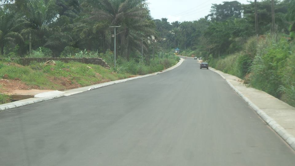 Road in Enugu