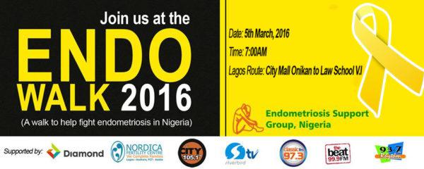 Endo Walk Lagos Banner