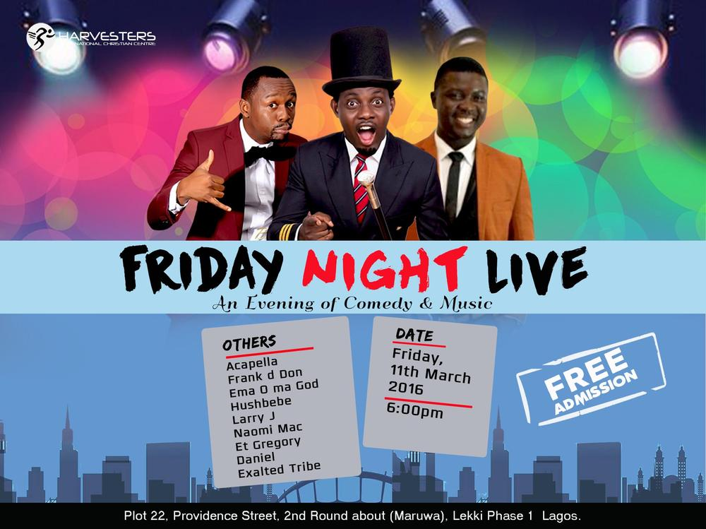 FRIDAY NIGHT LIVE MARCH 2 NEW