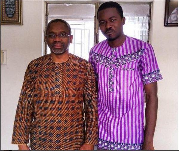 House Leader of Nigeria's 8th House of Representatives, Femi Gbajabiamila & Ayodele Dada