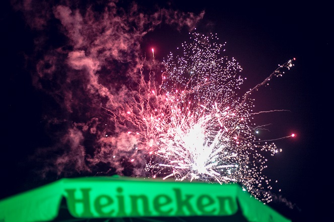 Firework at Heineken Gidi Fest