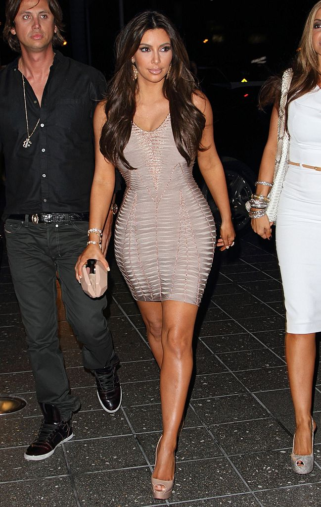 MIAMI, FL - FEBRUARY 02: Kim Kardashian arrives at Zuma Japanese Restaurant at the EPIC Hotel on February 2, 2012 in Miami, Florida. (Photo by Alexander Tamargo/Getty Images)