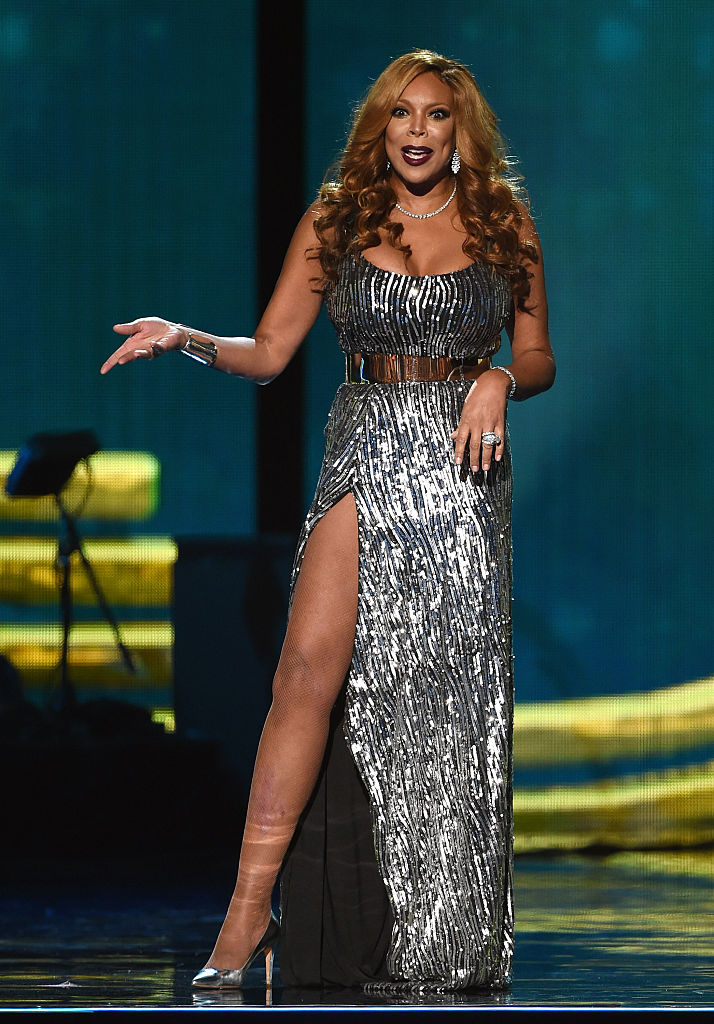 LAS VEGAS, NV - NOVEMBER 07: Host Wendy Williams speaks during the 2014 Soul Train Music Awards at the Orleans Arena on November 7, 2014 in Las Vegas, Nevada. (Photo by Ethan Miller/BET/Getty Images for BET)